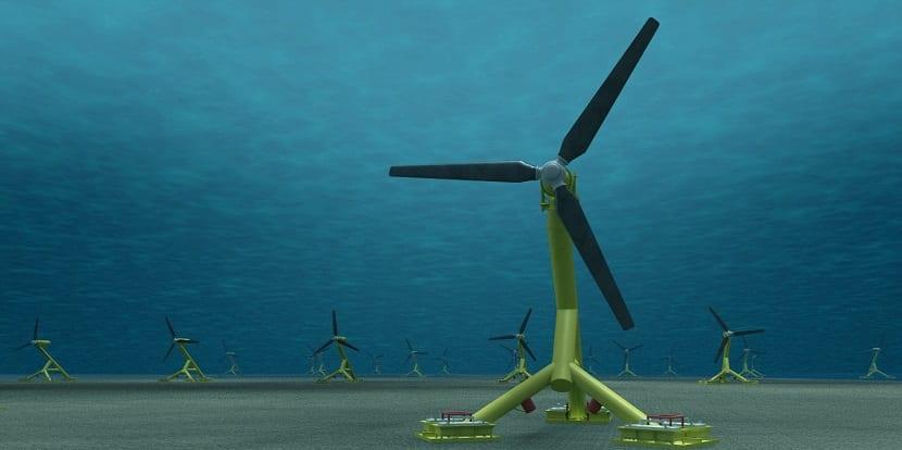 se mejora una turbina para la generación de energía mareomotriz