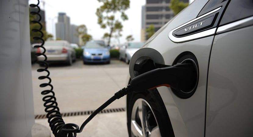 recarga de los vehículos eléctricos