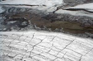 el permafrost se está derritiendo y liberando metano