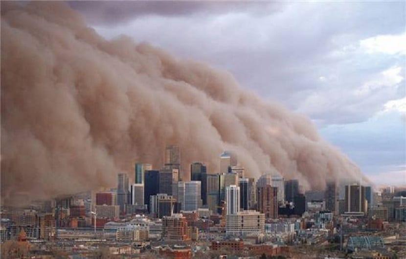 Contaminación atmosférica en las grandes ciudades