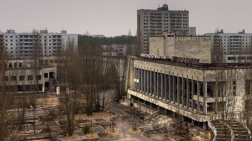 Desastre de Chernóbil ocurrido en 1986