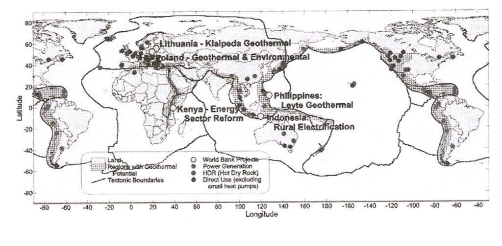 mapa energía geotérmica