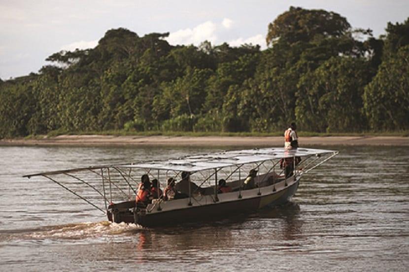Barco solar