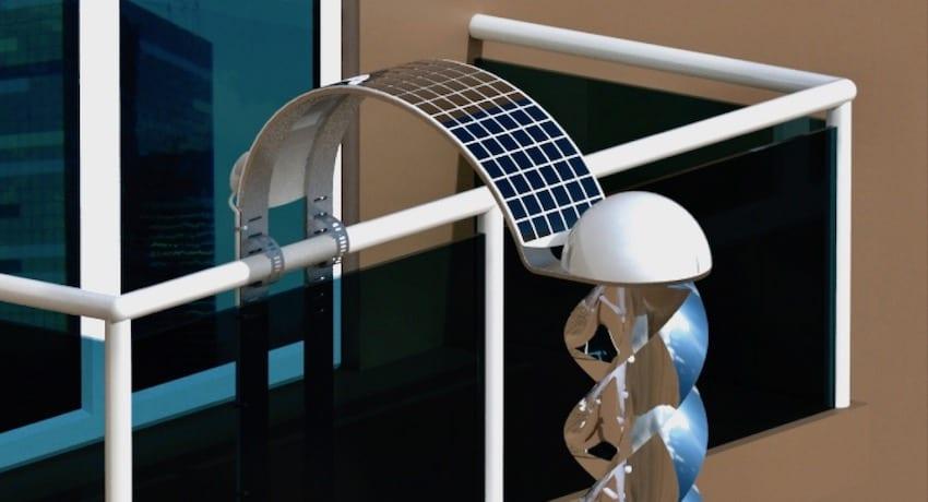 energía limpia en balcones