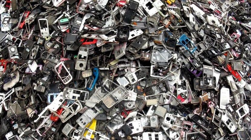 basura en áfrica de tecnologia