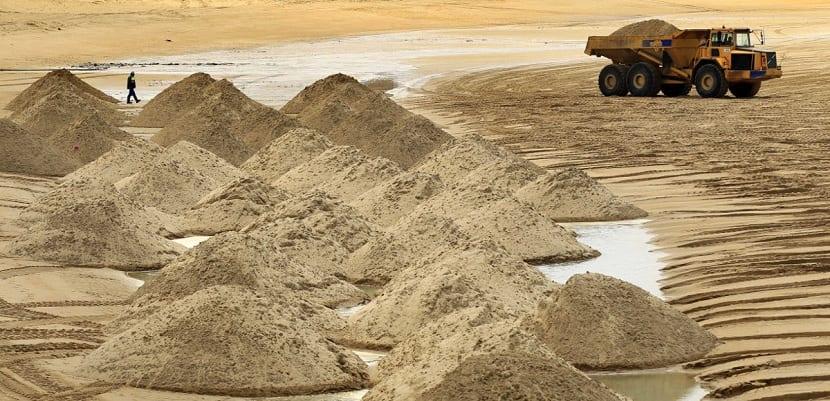 sobreexplotacion de arena