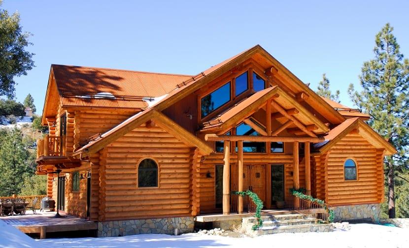 Casas ecologica de madera son las más eficientes