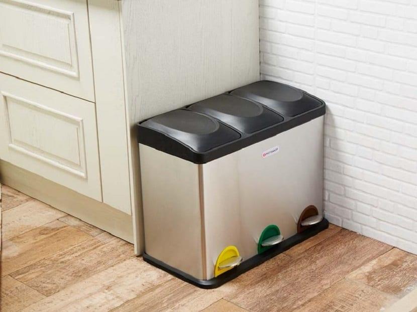 Contenedores de reciclaje en casa y para el hogar