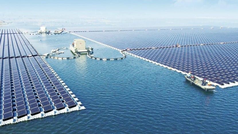 Energia solar china