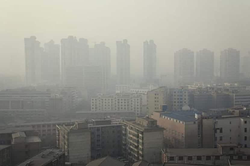 Ciudad con smog