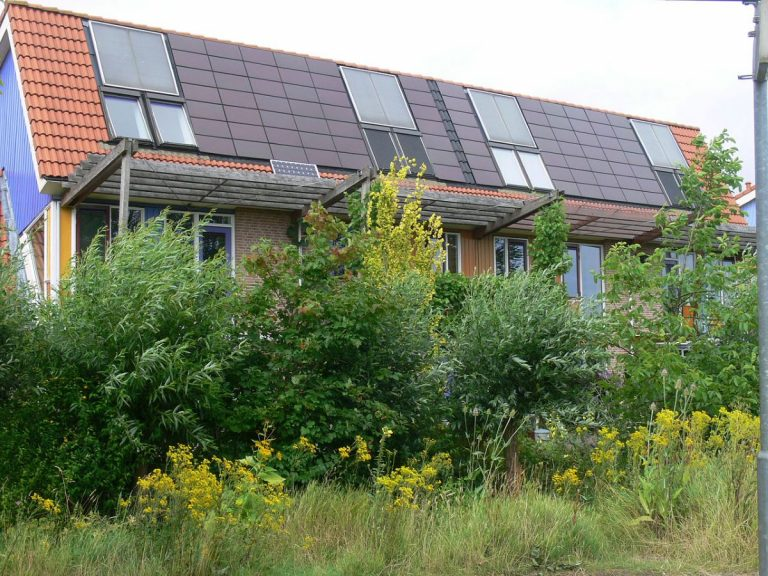 Las casas ecológicas respetan el medio ambiente