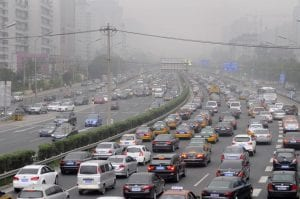 contaminacion por vehículos