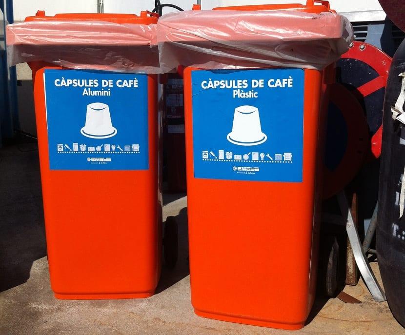 contenedores de capsulas de cafe