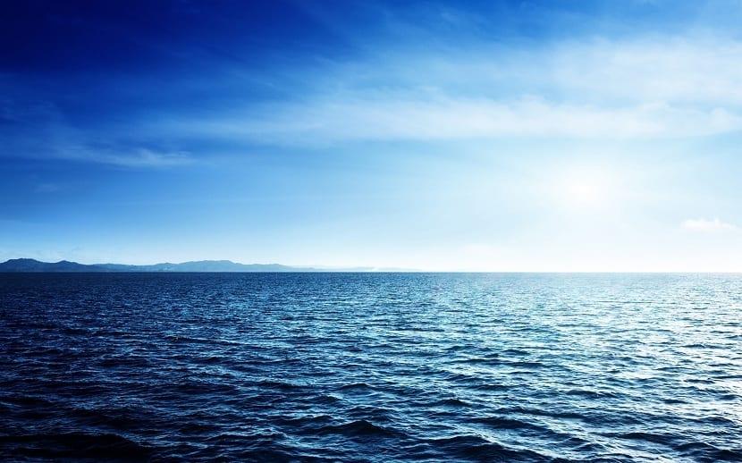 el océano guarda la mayor cantidad de agua del planeta