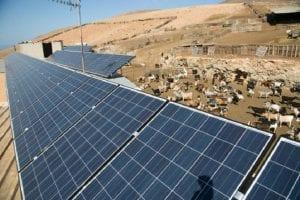 energía solar fotovoltaica en las ganaderias