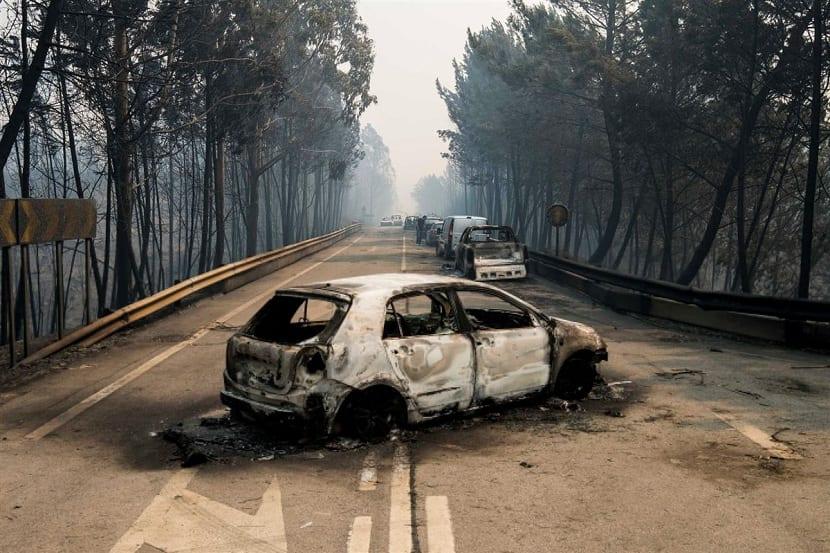 incendio de portugal