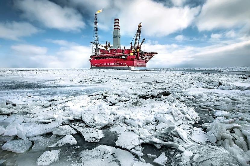 explotacion del petróleo del ártico