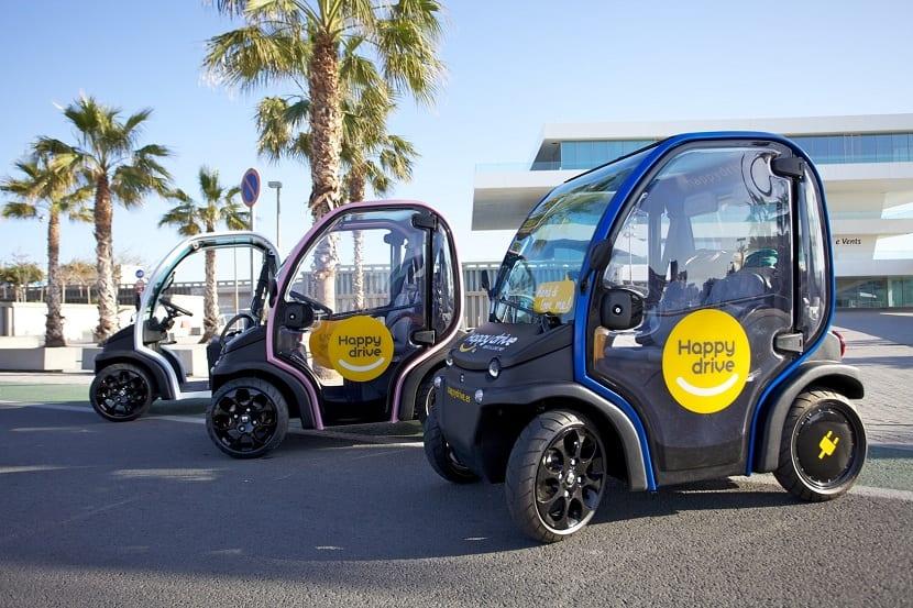 vehiculos electricos valencia