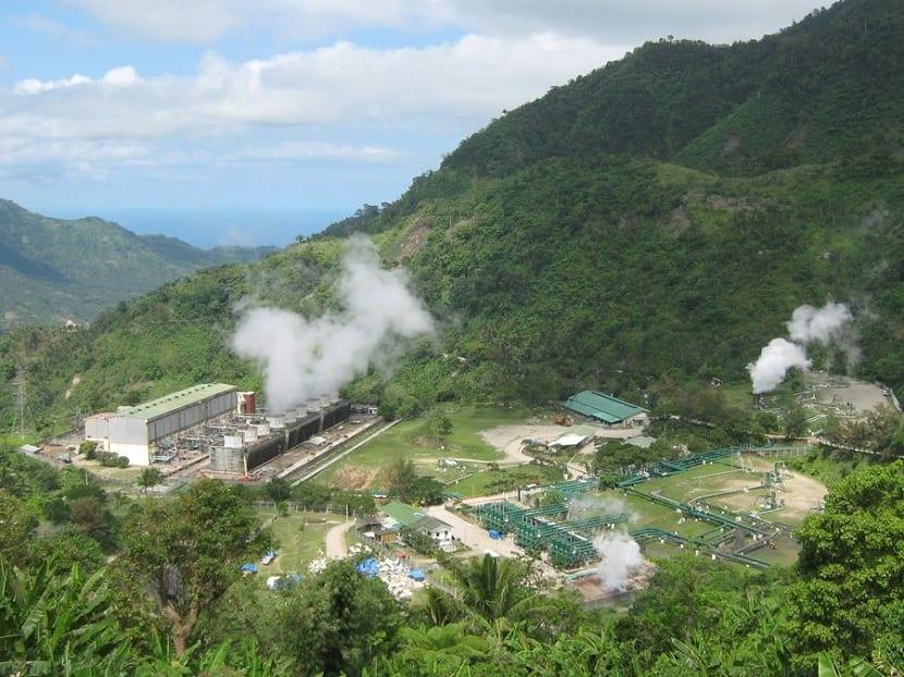 área de reservorio geotérmico