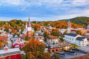Estado de Vermont. EEUU