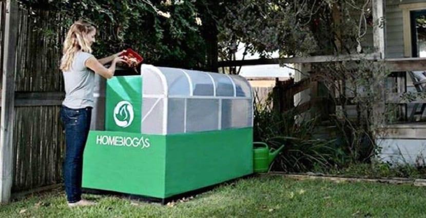 aparato que procesa los residuos