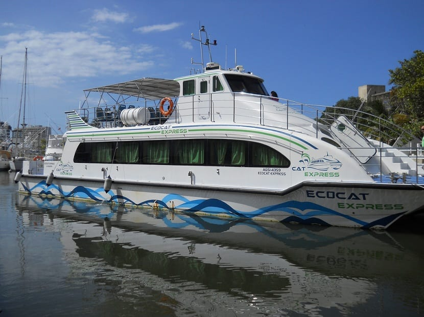 barco que funciona con renovables