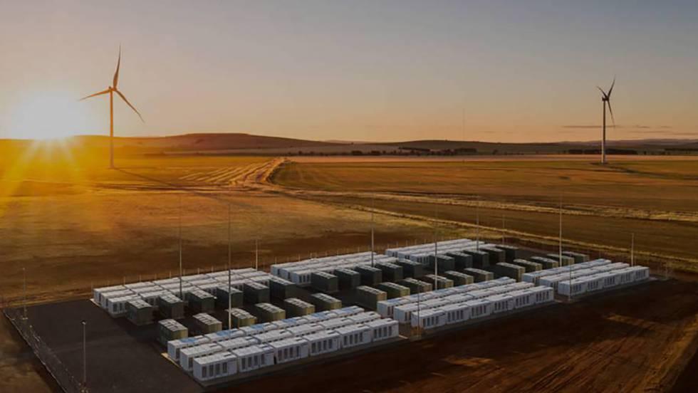 batería gigante en Australia