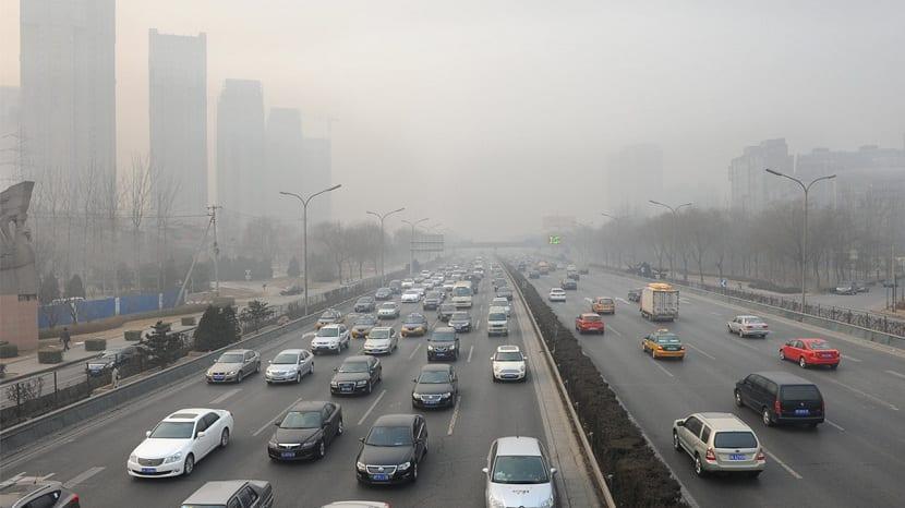 contaminacion por vehiculos