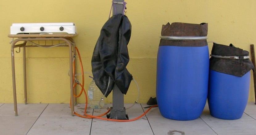 obtencion de biogas casero