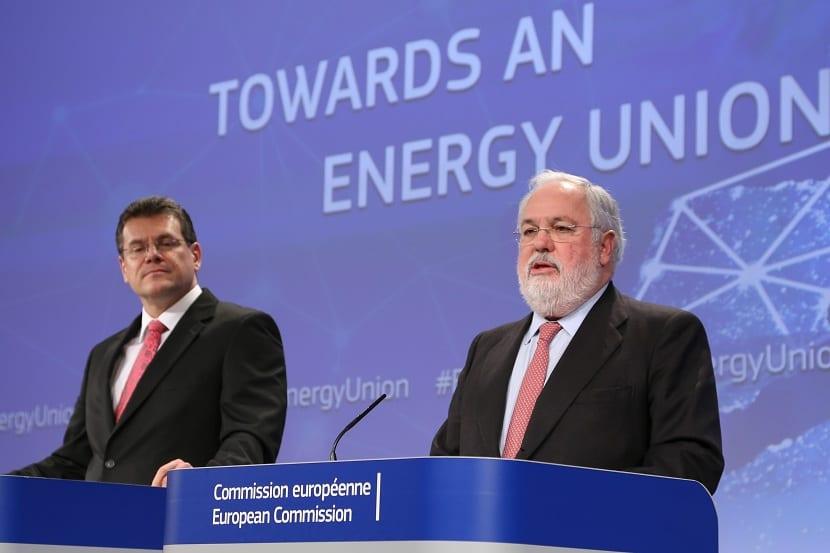 Arias cañete en la comisión europea