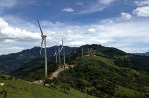 energía eólica en Costa Rica