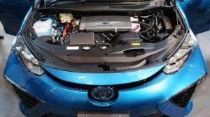 Motor de hidrógeno de un Toyota