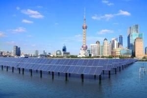 Energía solar en China