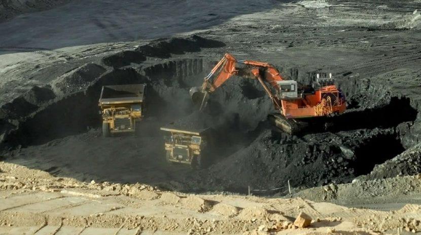 producción del carbón
