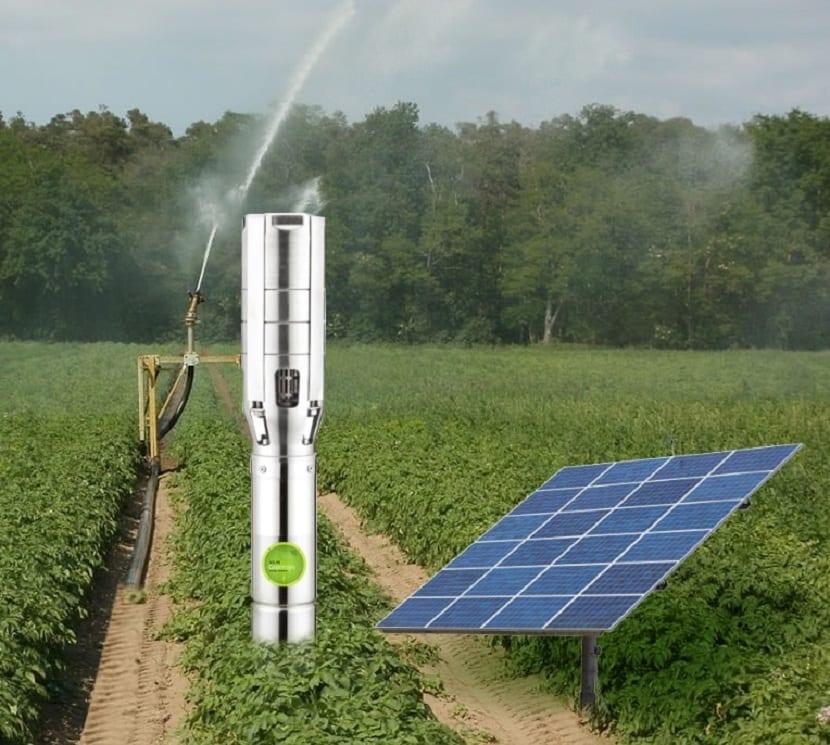Bombas de agua solar de superficie