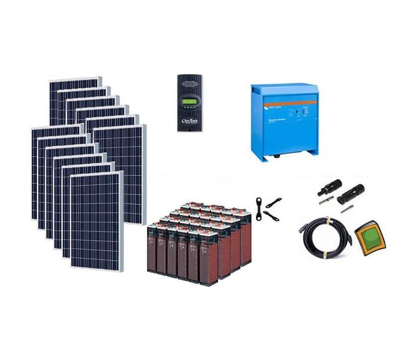 Kit solar para las viviendas