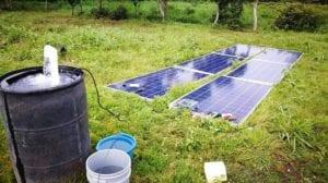 Tipos de bombas de agua solar