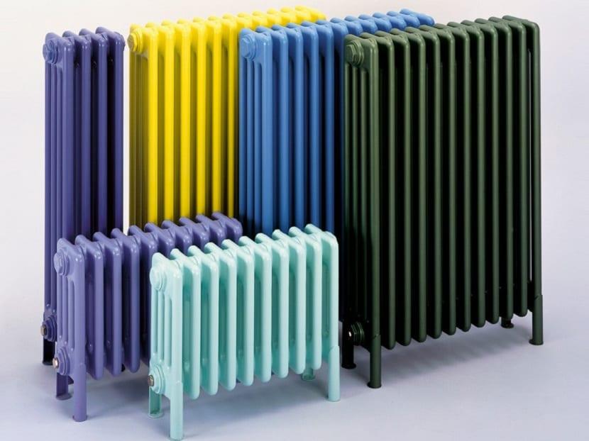 radiadores de calor convencionales