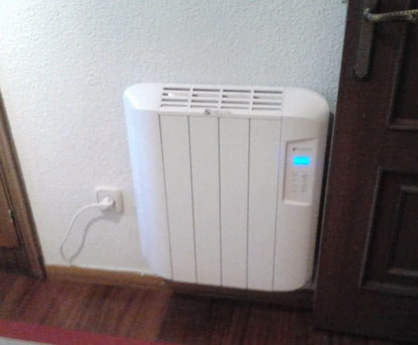ventajas el radiador de calor azul