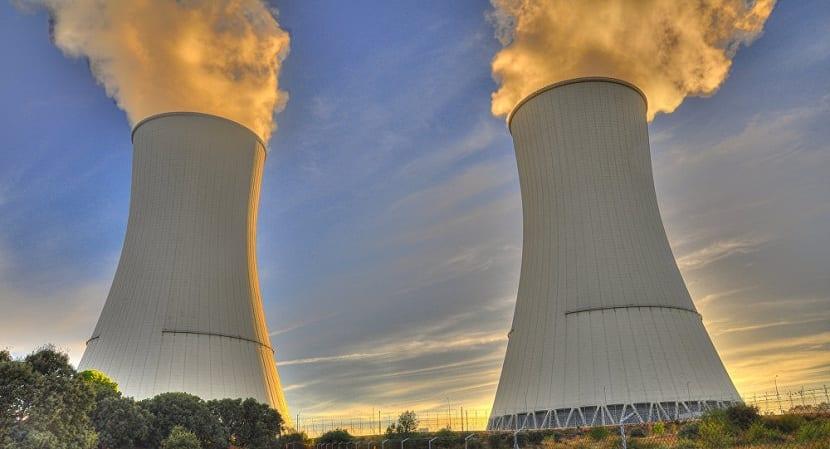 Centrales nucleares activas