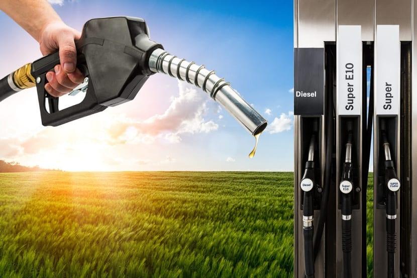 Producción de bioetanol para las gasolineras y el transporte