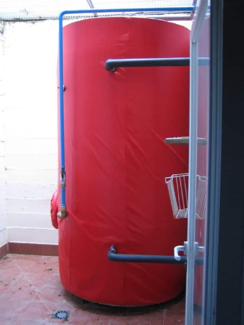 acumulador de energía solar térmica