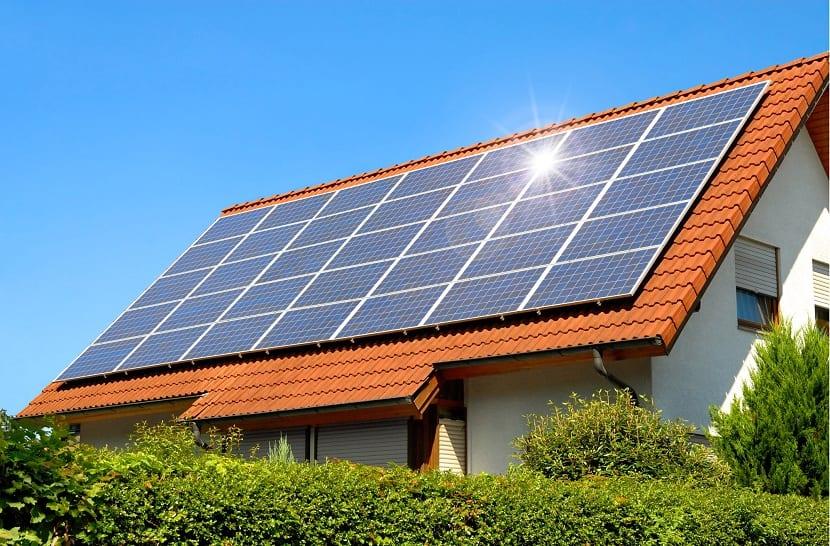 energía solar para las viviendas