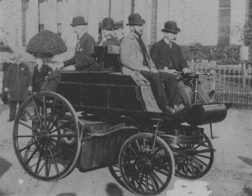 primer coche electrico