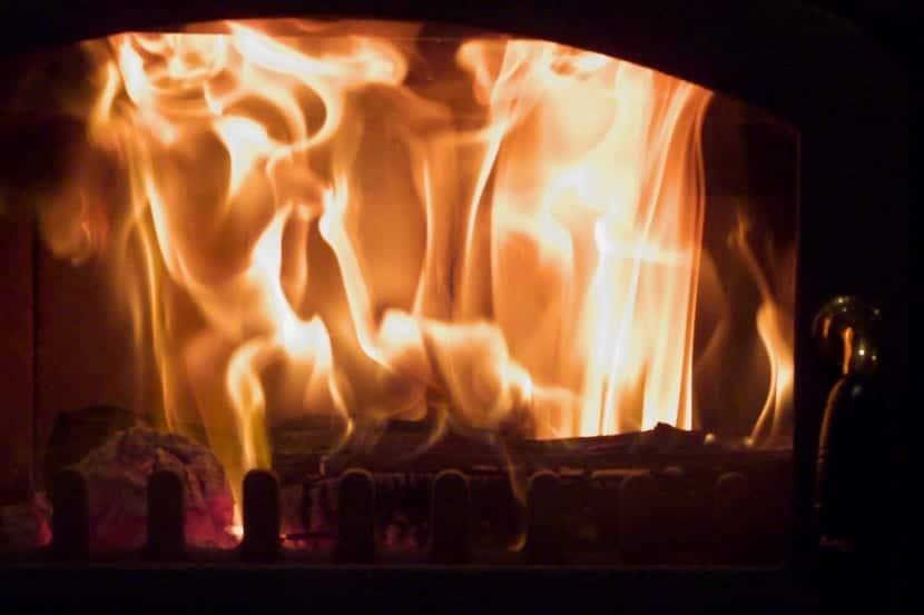 Combustión de un gas