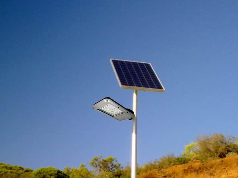 Energ as renovables y medio ambiente for Farolas led para exteriores