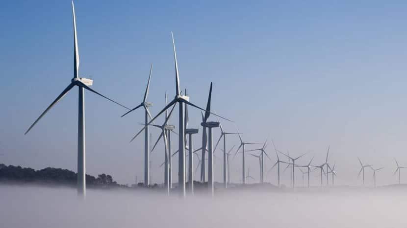 Parque eólico en Lleida