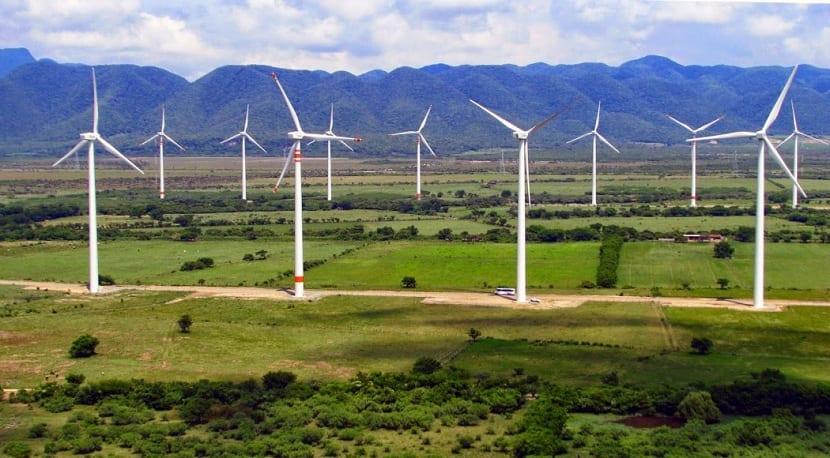 Parque eólico y su construcción