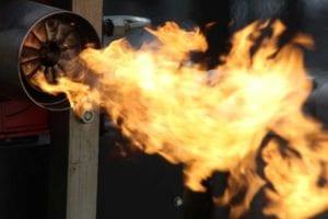 Poder calorífico de un gas