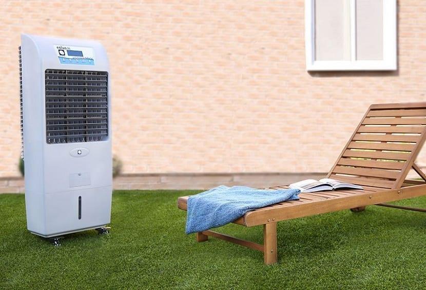 Características principales del climatizador evaporativo
